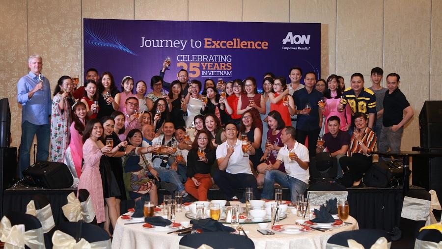 Tổ chức Team Building Aon Việt Nam