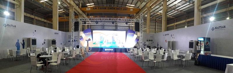 Tổ chức triển lãm giới thiệu sản phẩm chuyên nghiệp