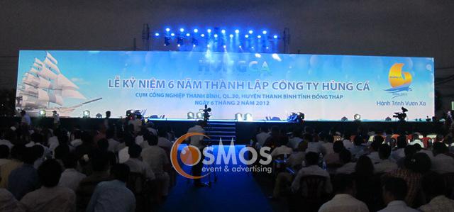Dịch vụ quay phim chụp hình phục vụ tổ chức sự kiện lễ kỷ niệm thành lập
