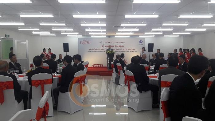 Tổ chức khai trương văn phòng mới Fujitsu Việt Nam