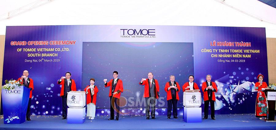 Khánh thành nhà máy công ty tnhh tomoe việt nam