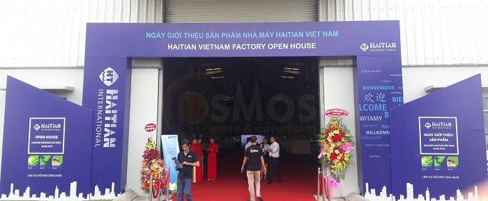 Tổ chức sự kiện triển lãm máy ép nhựa