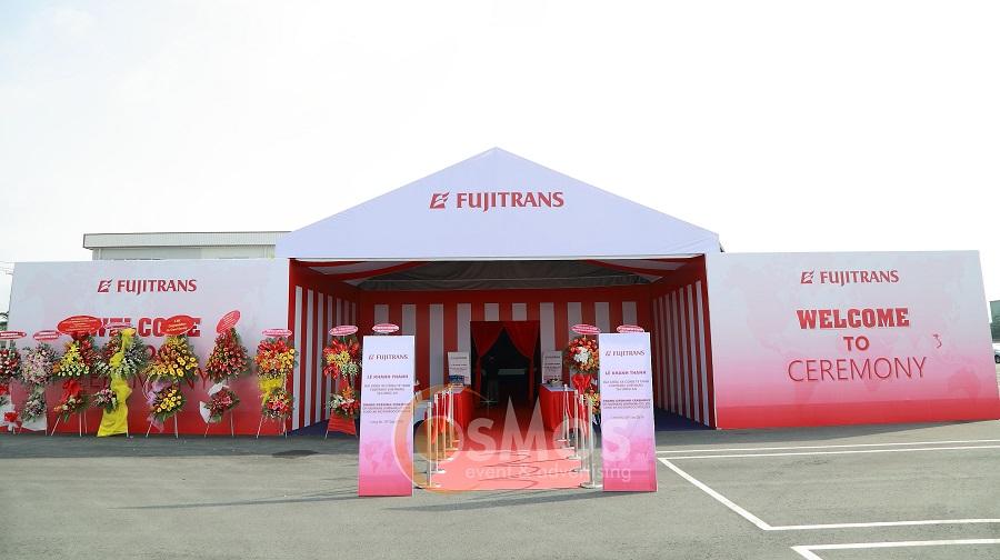 Tổ chức lễ khánh thành công ty Fujitrans Vietnam