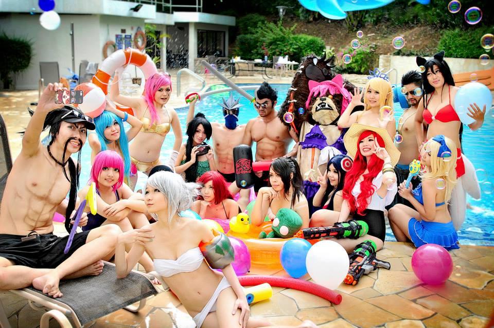 Trào lưu Pool Party mới nhất