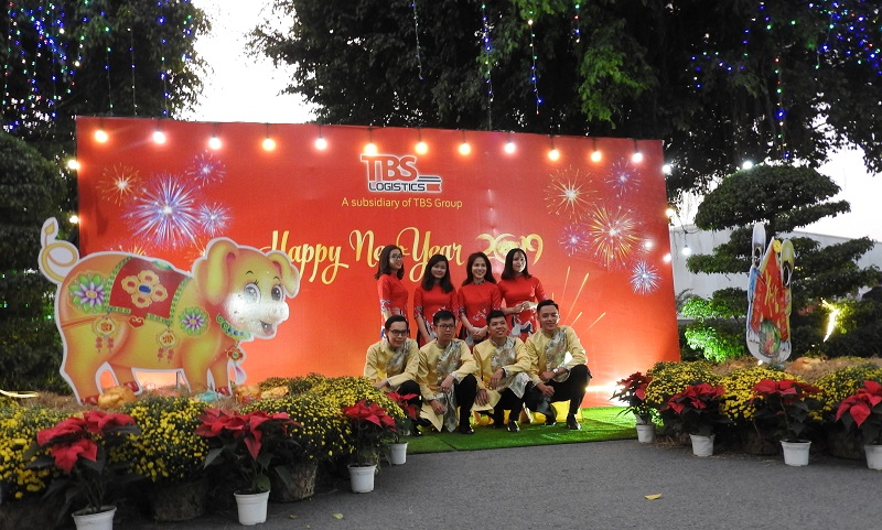 year end party tbs logistics