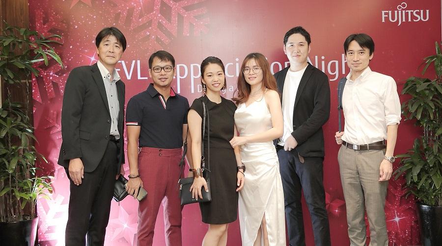 Tổ chức year end party Fujitsu Việt Nam