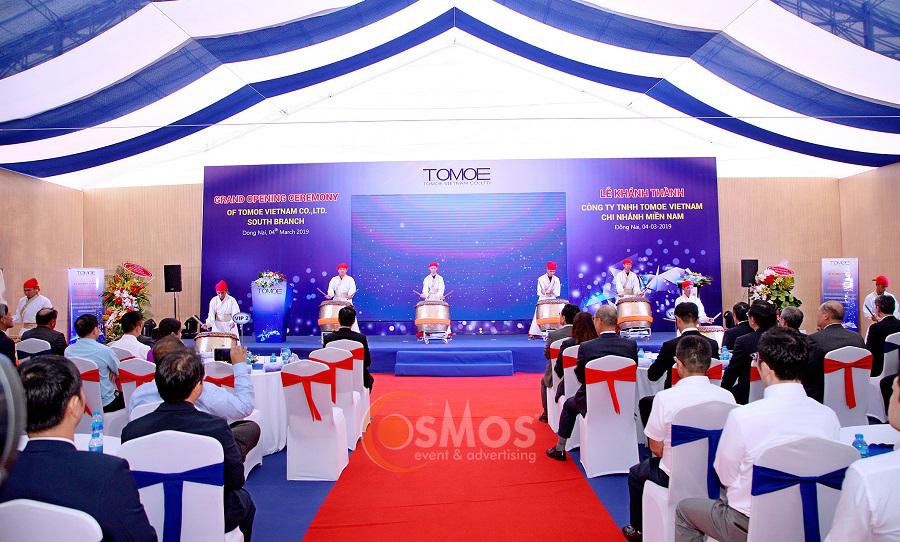 Lễ khánh thành công ty tnhh tomoe vietnam