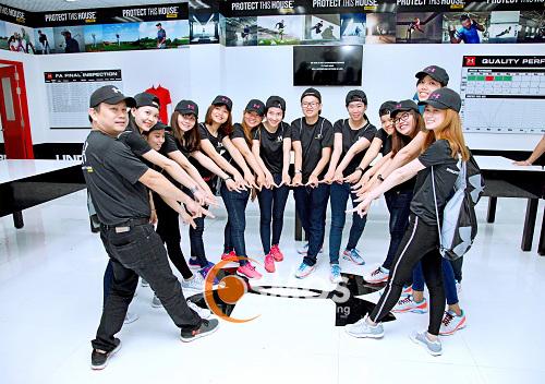 Under armour khai trương văn phòng tại Nhơn Trạch Đồng Nai