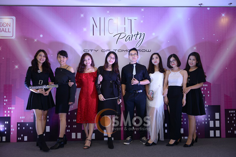 Tổ chức year end party Aeonmall Việt Nam