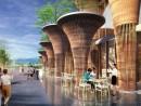 Gian hàng hội chợ triển lãm MILAN sáng tạo ý tưởng xanh độc đáo