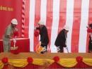 Tổ chức  động thổ  mở rộng nhà máy Ajinomoto Long Thành | Cosmos Event