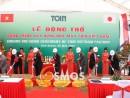 Tổ chức sự kiện lễ khởi công nhà máy Toin Việt Nam tại Bình Dương